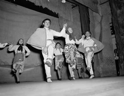 'New Australians' concert 28 May 1949